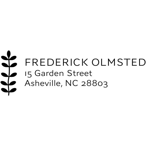 basic address stamp