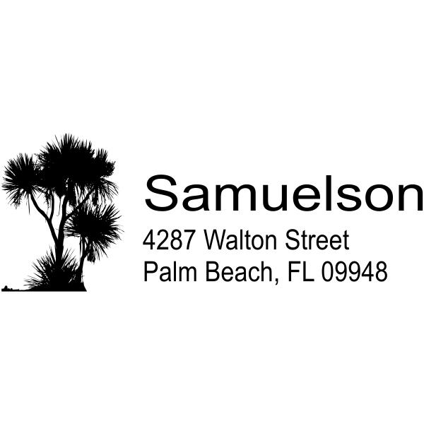 tree address stamp design