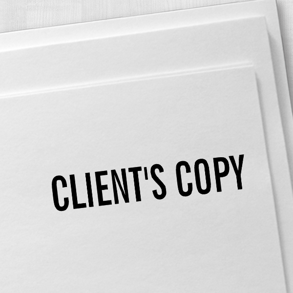 CLIENTS COPY Stock Stamp