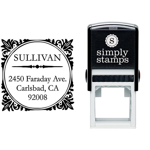 Sullivan Square Address Stamp Body and Design