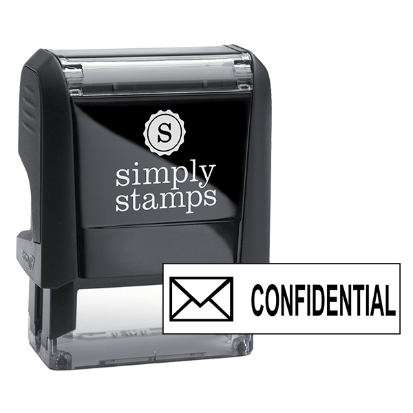 CONFIDENTIAL Mail Stock Stamp