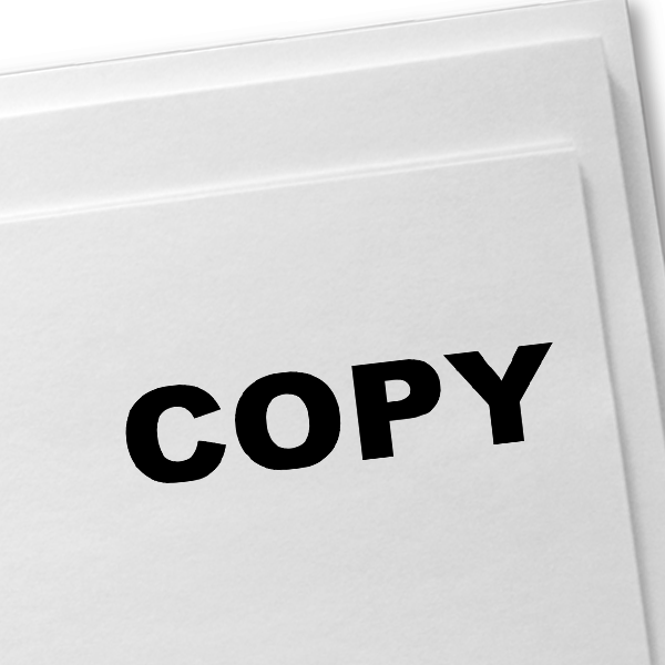 COPY Solid Stock Stamp