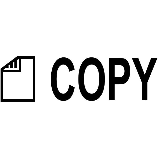 COPY DOCUMENT Stock Stamp