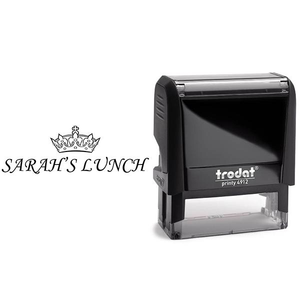 Tiara Name Stamp Body and Design