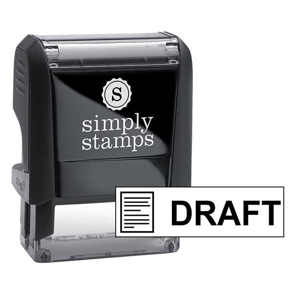 DRAFT Document Stock Stamp