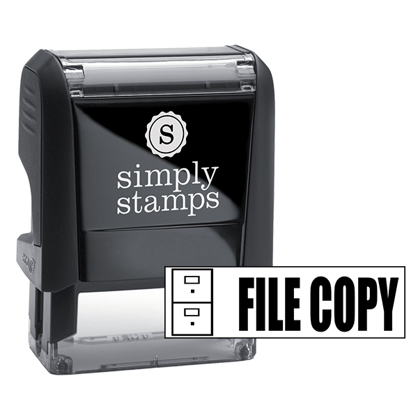 FILE COPY Cabinet Stock Stamp