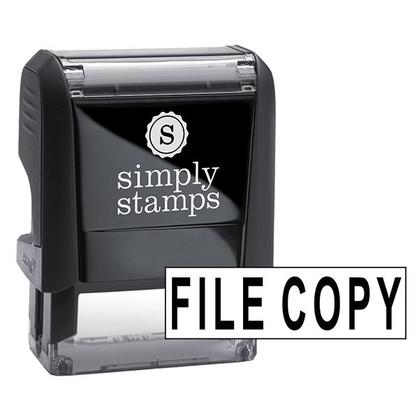 FILE COPY Stock Stamp