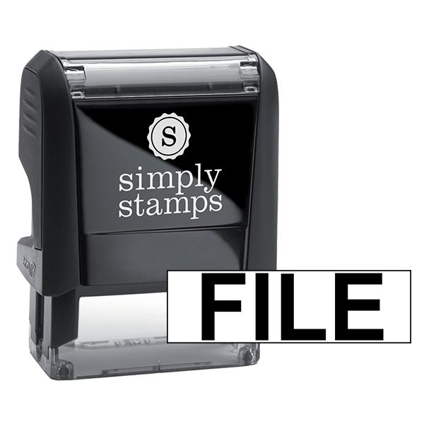 FILE Stock Stamp