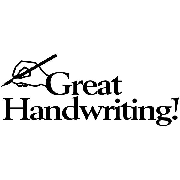 Great Handwriting Teacher Stamp