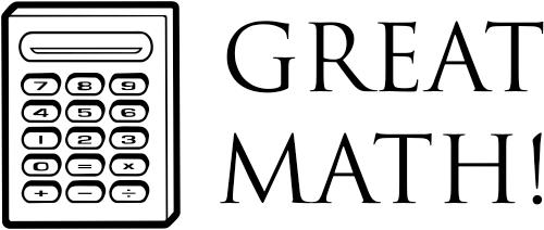 Great Math Calculator Teacher Stamp