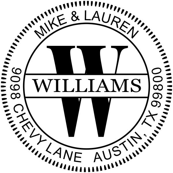 Williams Monogram Embosser