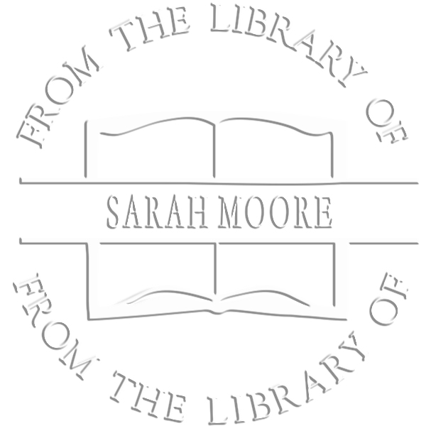 From the Library Book Name Embosser Imprint Example