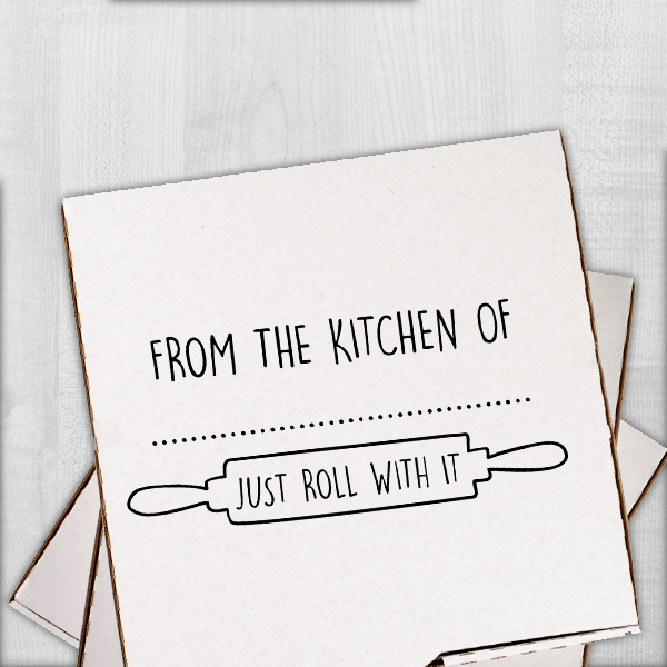From the Kitchen Rolling Pin Stamp Imprint Example