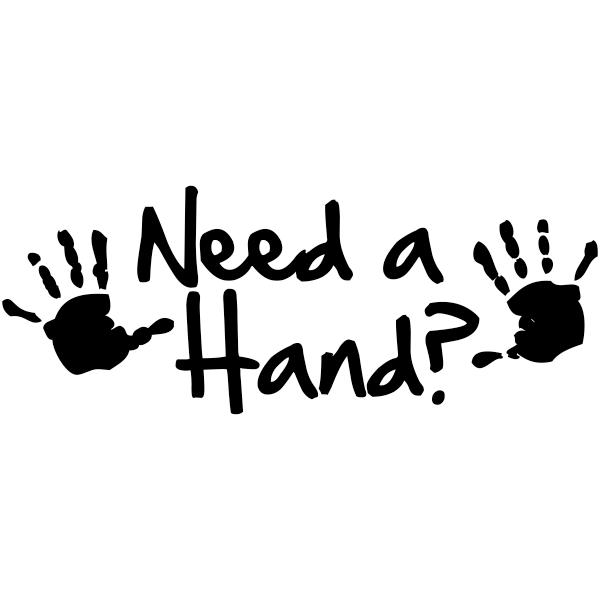Need A Hand? Teacher Stamp