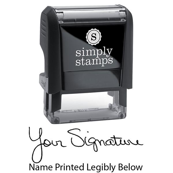 Self-Inking Nurses Signature Stamp Body and Imprint