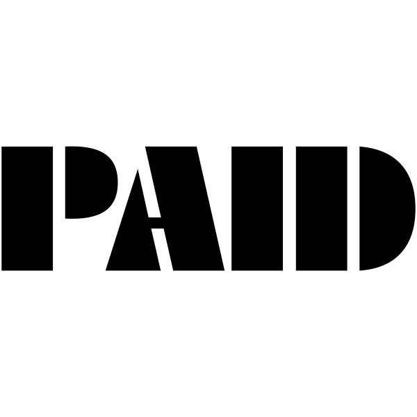 PAID Art Deco Stock Stamp