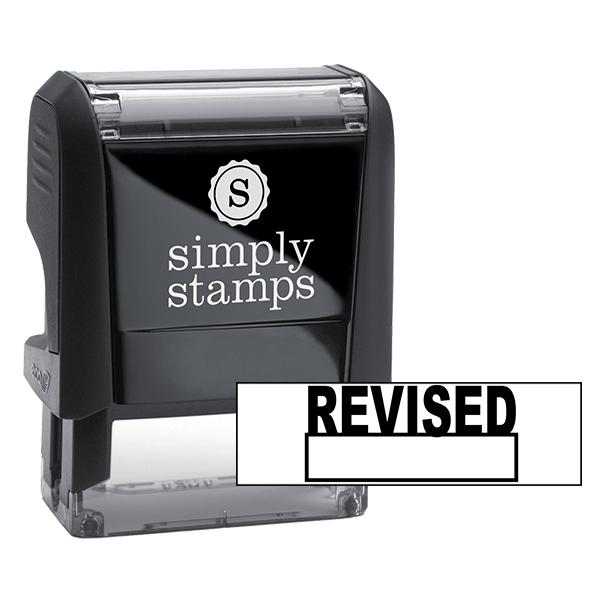 Revised Self Inking Stamp