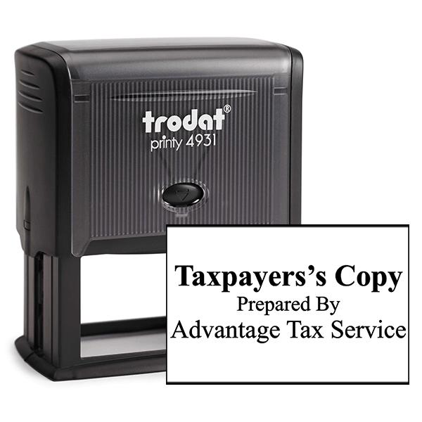 Tax Copy Stamp