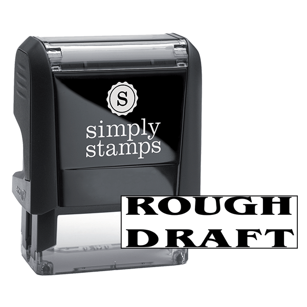 ROUGH DRAFT Stock Stamp