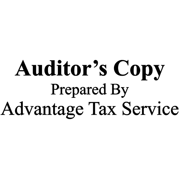 Auditor's copy prepared by company