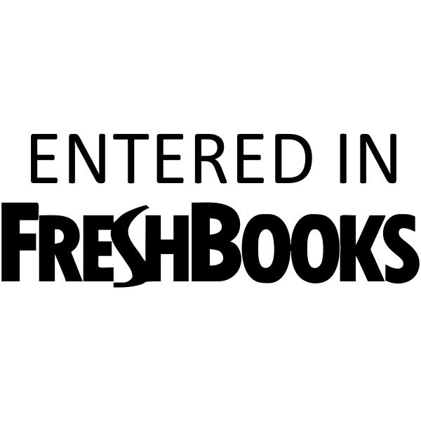 Entered in FreshBooks