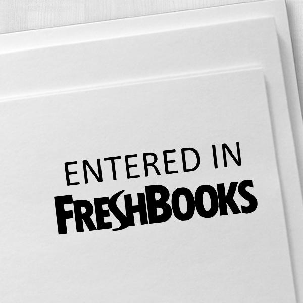 FreshBooks Stamp Imprint Example