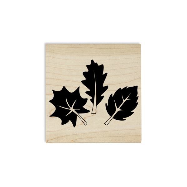 Three Leaves Craft Stamp Body and Design