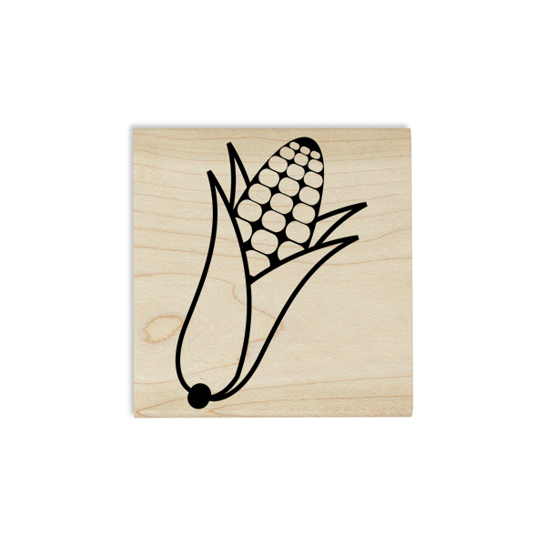 Corn in a Husk Craft Stamp Body and Design