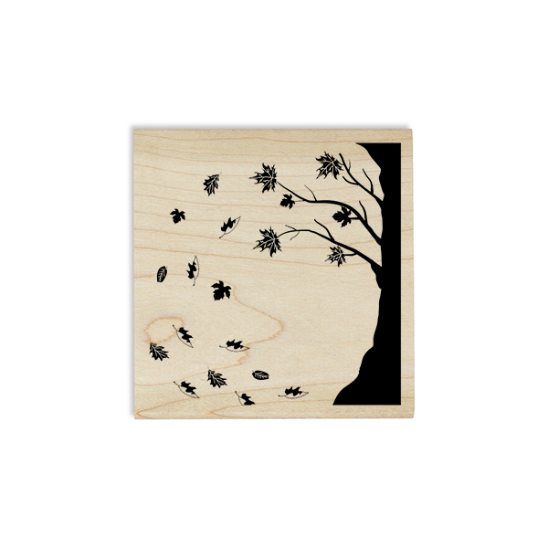 Falling Leaves Craft Stamp Body and Design