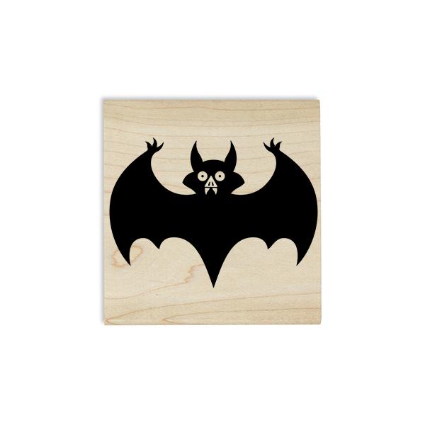 Vampire Bat Craft Stamp Body and Design