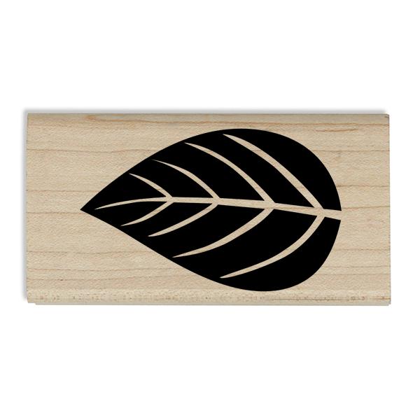 Autumn Foliage Leaf Craft Stamp Body and Design