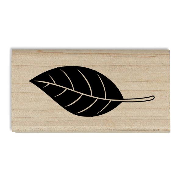 Autumn Oak Leaf Craft Stamp Body and Design