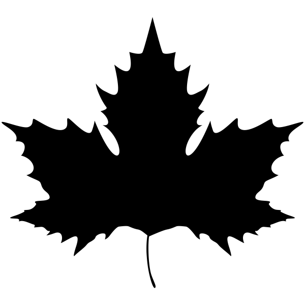 Maple Leaf Craft Stamp
