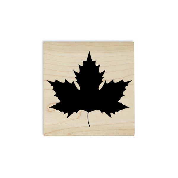 Maple Leaf Craft Stamp Body and Design