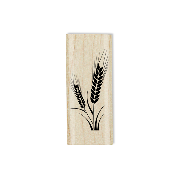 Corn Stalk Craft Stamp Body and Design