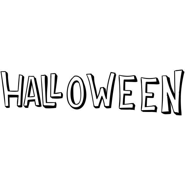 Halloween Hollow Craft Stamp