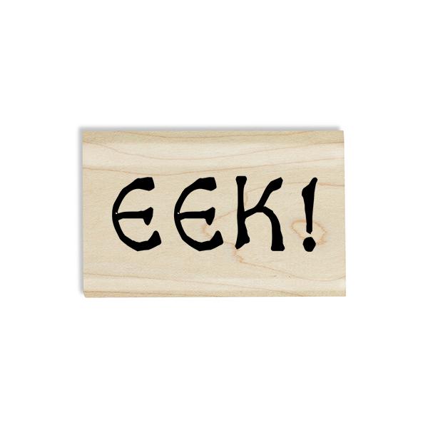EEK! Halloween Craft Stamp Body and Design