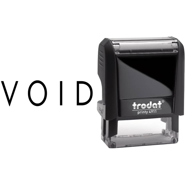 VOID Stock Stamp Body and Imprint