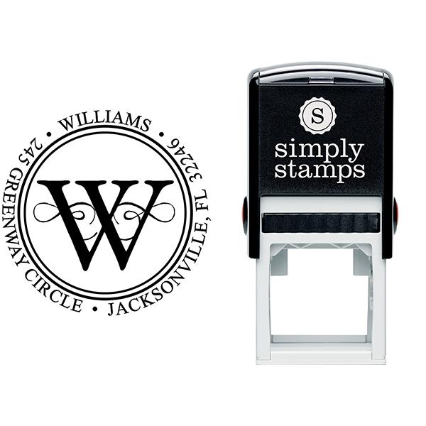 Executive Address Stamp Stamp Body and Imprint