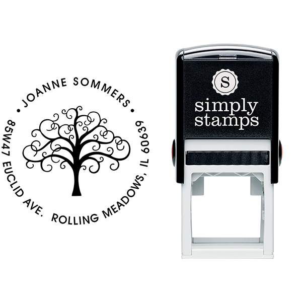 Tree Address Stamp Body and Imprint