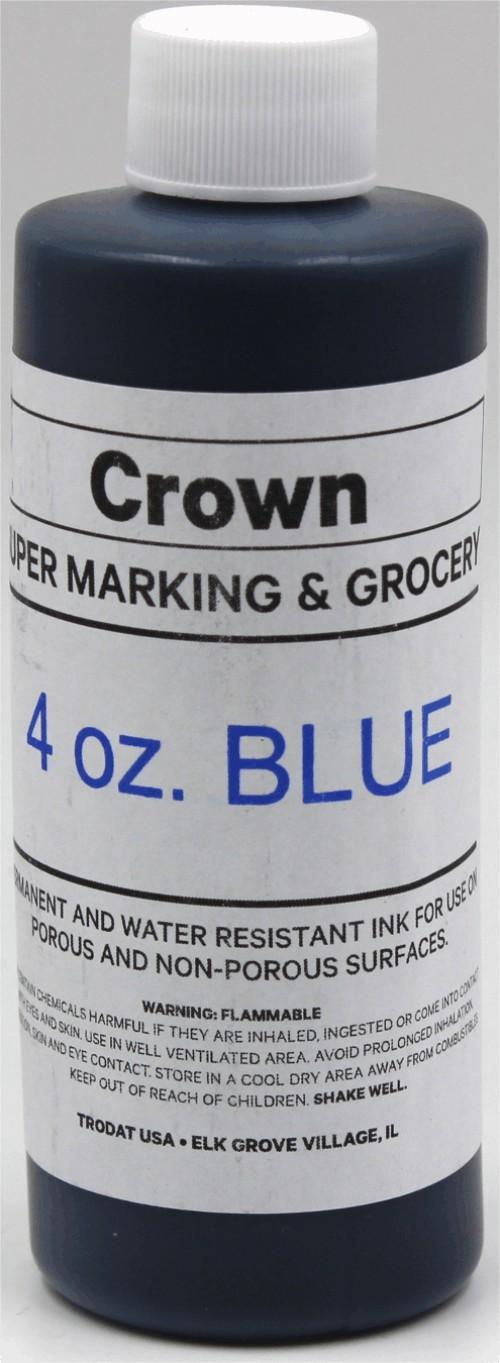 Blue 4oz SuperMarking Ink