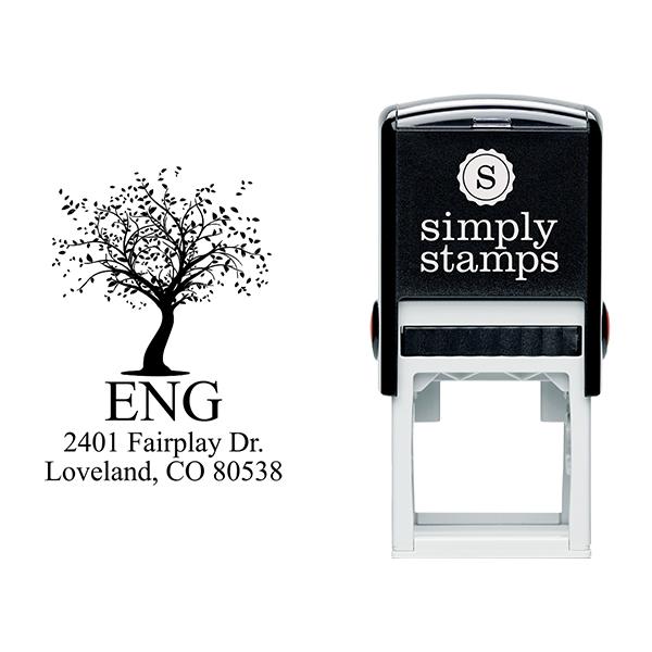 Maple Tree Return Address Stamp Body and Design