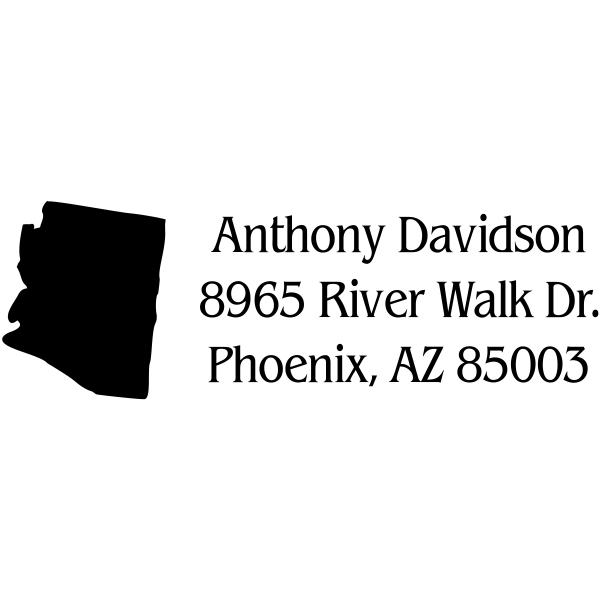 Arizona Return Address Stamp