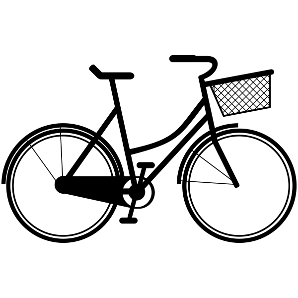 Beach Bicycle Craft Stamp