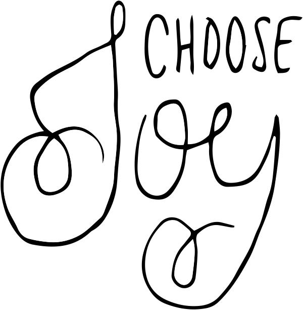 Choose Joy Stamp