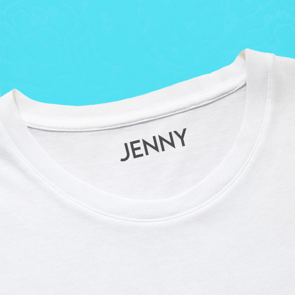 Modern Clothing Stamp with Shirt