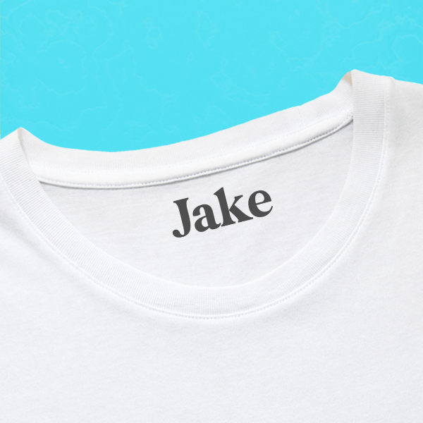 Serif Clothing Stamp with Shirt