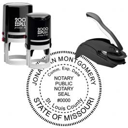 Missouri Notary Round Seal