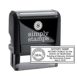 Montana Notary Public Seal