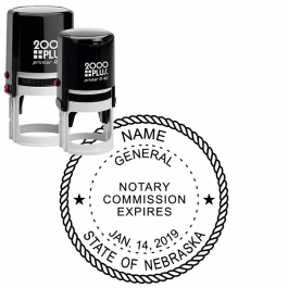 Nebraska Notary Round Seal
